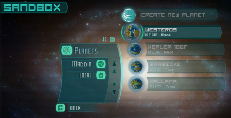 alpha 9 sandbox editor imagine earth